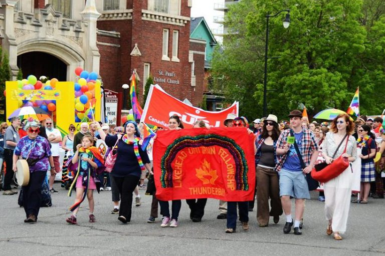 2017 LUF at Pride parade