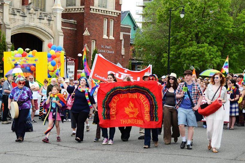 2017 LUF at Pride parade